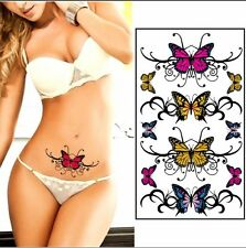 3D Temporary Butterfly Tattoo Sticker Body Art Removable Waterproof Tattoos