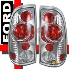 97-03 Ford F150 97-07 F250 F350 Super Duty Pickup Chrome Tail Lights Lamps