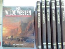 7 verschiedene Bücher über den wilden Westen ,the old West -Time life Bücher