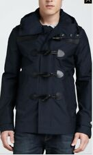 Burberry Brit Men Waterproof Duffle Coat Navy Size XL
