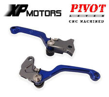 DirtBike Racing Pivot Brake Clutch Levers Yamaha YZ125/250 YZ426F/450F 2001-2007