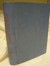 FER-DE-LANCE A NERO WOLFE MYSTERY BY REX STOUT-JUNIOR BOOK CLUB-1934