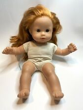 "Gotz Doll Cloth Body Vinyl Head Limbs 140-14 Red Hair Blue Eyes Sleepy 16"""