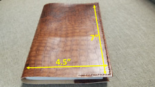 Book Cover FAUX LEATHER  7×4.5