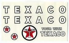Minnitoys Texaco Fuel Tanker Replacement Decal Set