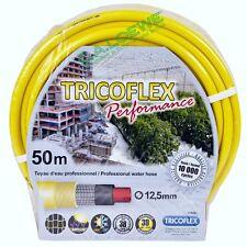 """Wasserschlauch Tricoflex Performance gelb,1/2""""=12,5mm Rolle à 50m Gartenschlauch"""
