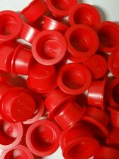 100 NEW FIREWORKS PYRO PLASTIC PLUGS FOR TUBES END CAPS  1""