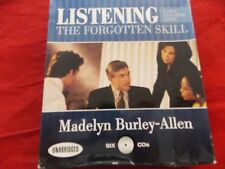 Listening: The Forgotten Skill: A Self-Teaching Guide, MADELYN BURLEY-ALLEN,6 CD