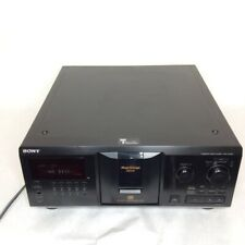 Sony CDP-CX355 Mega Storage 300 Disc CD Changer Player TESTED~NO Remote