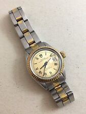 TUDOR PRINCESS OYSTERDATE WATCH FOR WOMAN CAL. 2671 REF. 924.13 STEEL AND GOLD C