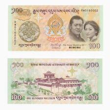 BHUTAN - 100 Ngultrum (2011) P.35 - Royal Wedding - UNC.
