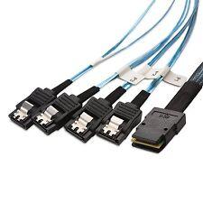 Cable Matters Internal Mini-SAS to 4x SATA Forward Breakout Cable 1.6 Feet