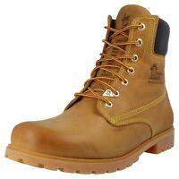 f1a2c68f9e5159 Panama Jack PANAMA 03 Herren Boots Stiefel Leder Schuhe Gelb Übergrößen XXL  Neu