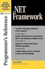 Programmer's Reference Ser.: .Net Framework Programmer's Reference by Dan...