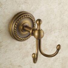 Antique Brass Bath Robe Hooks Towel Rack Coat Hat Hook Door Wall Mounted Hanger