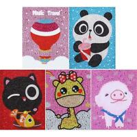 5D DIY Full Drill Diamond Painting Cartoon Kids Embroidery Mosaic Kit Gift R1BO