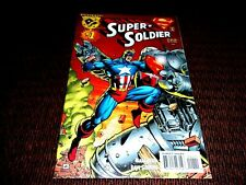 Amalgam Comics 1996 Super Soldier #1 Ultra Metallo! Lex Luthor ! Free Shipping