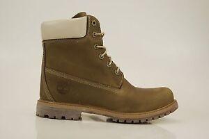 Timberland 6 Inch Premium Boots Internal Wedge Waterproof Women Boots 8229A