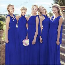 Stock New Formal Convertible Bridesmaid Dress Evening Party Prom Ball Gowns 6-26