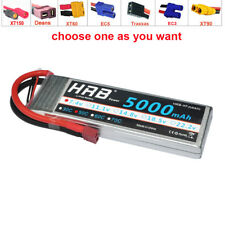 HRB 5000mAh 2S 7.4V LIPO BATTERY E-REVO SLASH SC10 BANDIT SAVAGE FLUX E-MAXX
