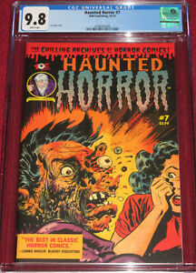 HAUNTED HORROR # 7 (2013) Classic Tomb of Terror 15 cover by Lee Elias!