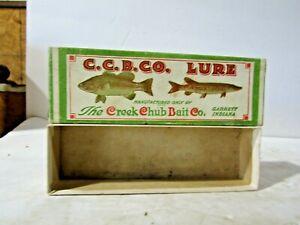 Large Creek Chub Empty Box Snook Pike Perch Scale 5501 7 1/2 X 21/2