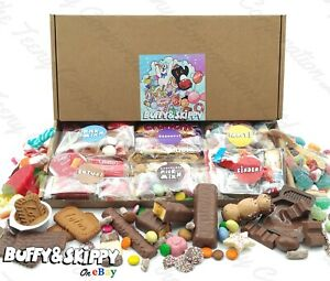 Pick N Mix Sweet & Chocolate Hamper Gift Box Personalised Kinder Cadbury Biscoff