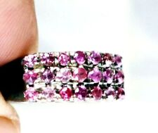 ANTIQUE OLD WOMAN RINGS RED RUBY SAPPHIRE 925 SILVER STERING THAILAND GEMS