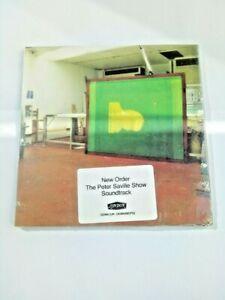New Order 'Peter Saville Show Soundtrack' RARE PROMO CD London/Factory