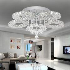 76W LED Kristall Deckenlampe Hängeleuchte Leuchten Deckenleuchte Wohnzimmer IP65