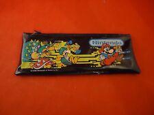 Nintendo NES Super Mario Bros Pencil Case School Supply Pouch 1988 Bowser Goomba