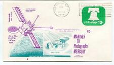 1974 Mariner 10 Photographs Mercury Pasadena Deep Space Network NASA USA SAT