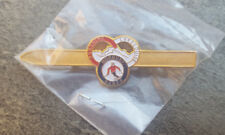 SUNSHINE LAKE LOUISE NORQUAY BANFF Rings Resorts Skier Ski Lapel Hat Pin Canada