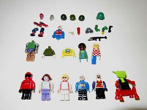 Lot of Mega Bloks MINI FIGURES Dale Ernhardt Jr Alien People & Misc Other Parts