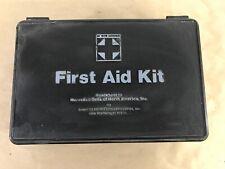 Rare Mercedes  White Cross First Aid Kit Black  9008650850 A14