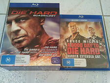 DIE HARD BLU RAY COMPLETE COLLECTION 5 MOVIES