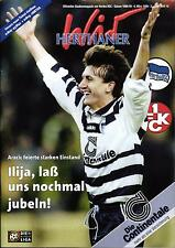 BL 98/99 Hertha BSC - 1. FC Kaiserslautern, 06.03.1999  Poster Andreas Neuendorf
