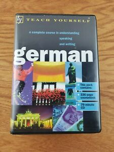 Teach Yourself German Course, Paul Coggle & Heiner Schenke, Book & Cd Set, 1998