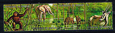 Burundy Fauna Tropical Wild Animal African Elefants stamp 1971