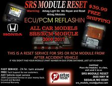RESET FOR 2000-2017    ALL LEXIS  AIRBAG SRS  MODULE   89170-0E170   89170-06390