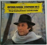 Dvorak Symphony Nr. 5/9 from the New World Giulini DGG 2530881 Stereo