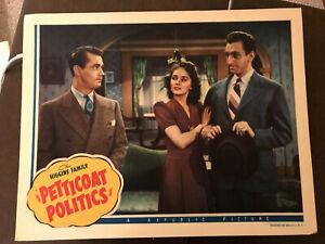 Petticoat Politics 1941 Republic 11x14 romantic lobby card Alan Ladd Lois Ranson
