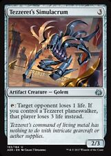4x Tezzeret's Simulacrum - Planeswalker Deck Exclusive NM-Mint, English Aether R