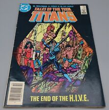New listing Dc Comics Tales of the Teen Titans, The End of the Hive # 47 1984 Comic Book