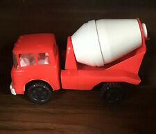Vintage Gay Toys Plastic Cement Mixer Truck #535 6 1/2""