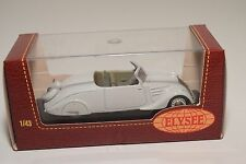 . ELYSEE ELY532 PEUGEOT 402 ECLIPSE 1936 TOIT RENTRE WHITE MINT BOXED