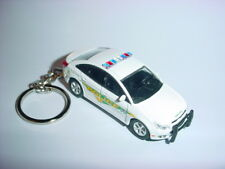 NEW 3D CHEVROLET CRUZE POLICE CUSTOM KEYCHAIN keyring key 911 cops LAW bling 13