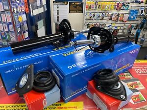 FORD FOCUS C-MAX MK2 2004-2012 FRONT SHOCK ABSORBERS + TOP MOUNT*BRAND NEW PAIR*