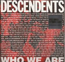 """Descendents  - Who We Are  7"""" Vinyl  LP RSD 2018 NEW!!"""