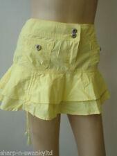 Minigonna da donna casual in cotone